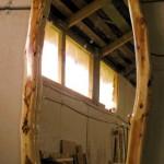 Espejo Rústico de Ciprés